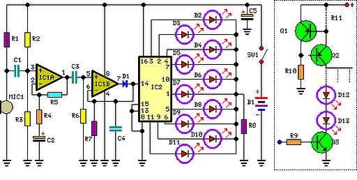 Цветомузыка на светодиодах своими руками: схемы, инструкция сборки.