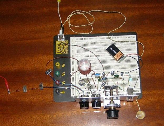 Простейший FM приёмник на одном транзисторе S9018 ...