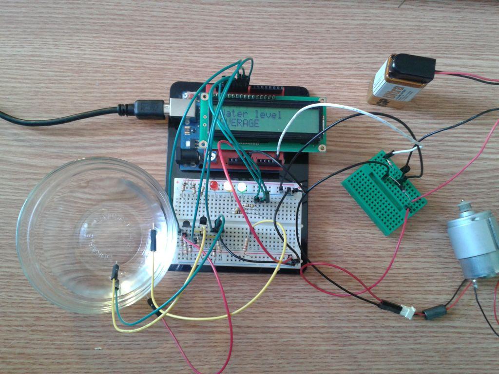 Радио для всех Arduino и контроллер уровня воды с