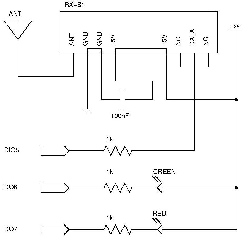 Grove - 433MHz Simple RF link kit User Manual
