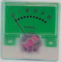 В индикаторе использован микроамперметр с током полного отклонения 250 мкА и