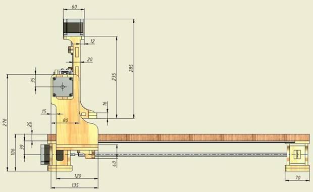 3д фрезерный станок с чпу по дереву своими руками чертежи ардуино 65