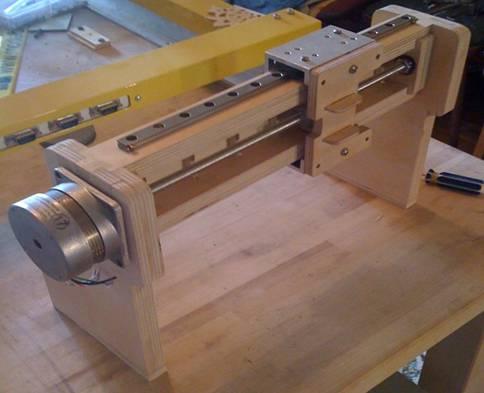 Самодельный станок с чпу из принтера