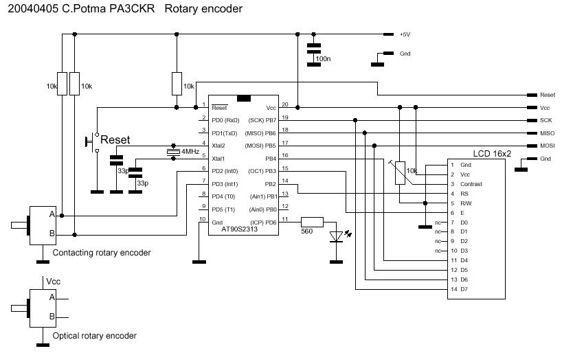 Example: Rotary Encoder Volume Control Pro Trinket