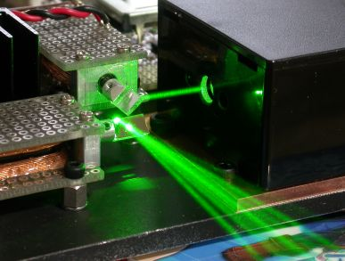 Лазерные эффекты своими руками