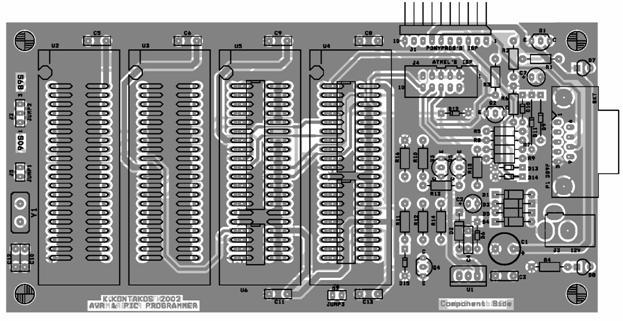 EPROM адаптер для ATMEL 89