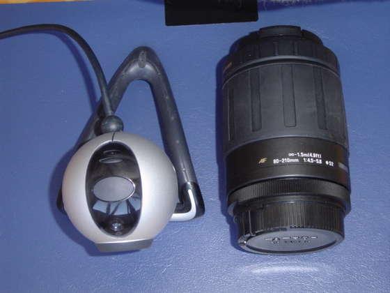 Телескоп из веб камеры своими руками