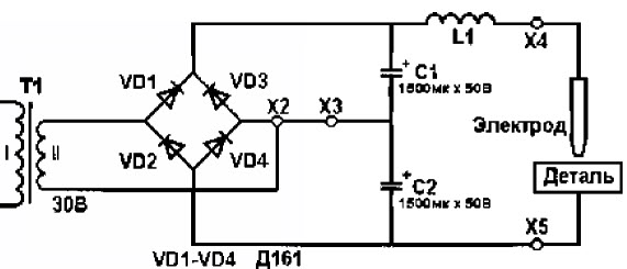 Мощность трансформатора Т1