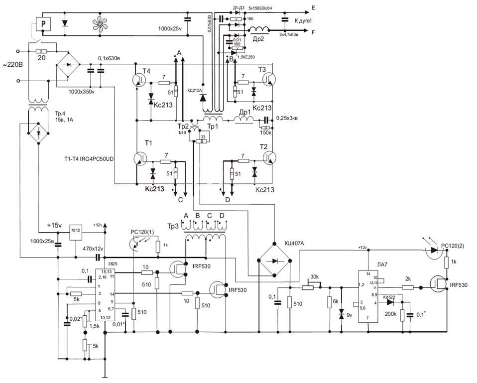 Выбор силовых транзисторов