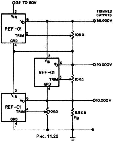 Схема с простым расположением