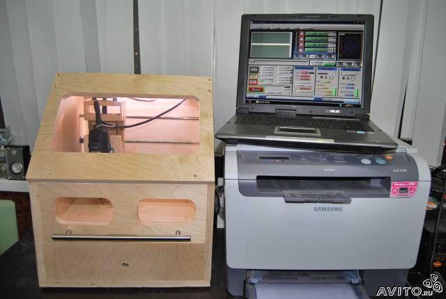 Фрезерный станок с чпу из принтера своими руками