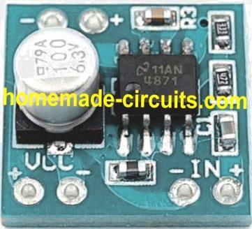 Модуль LM4871 USB-усилитель