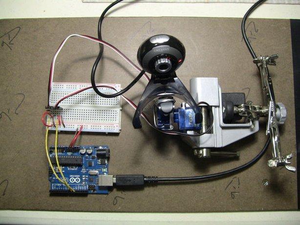 Управление камеры своими руками