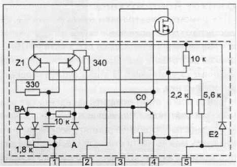 Принципиальная схема SMR40200